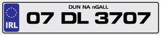 number plates ireland