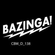 Bazinga Car Stickers to buy online