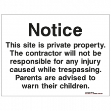 Construction Signs Ireland