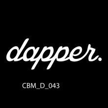 Dapper Car Sticker