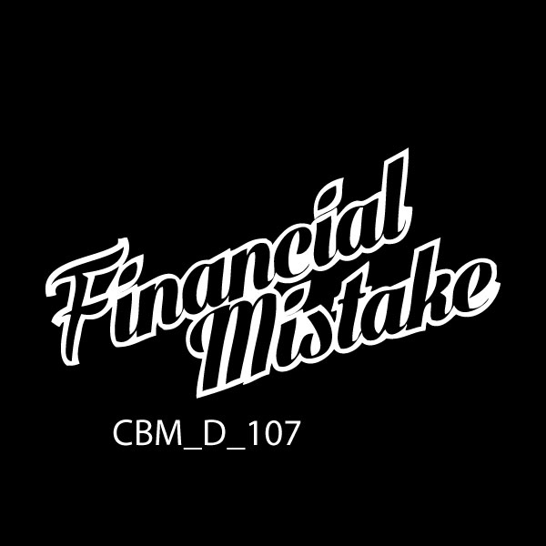 Financial Mistake 2 Car Sticker - Car Decals