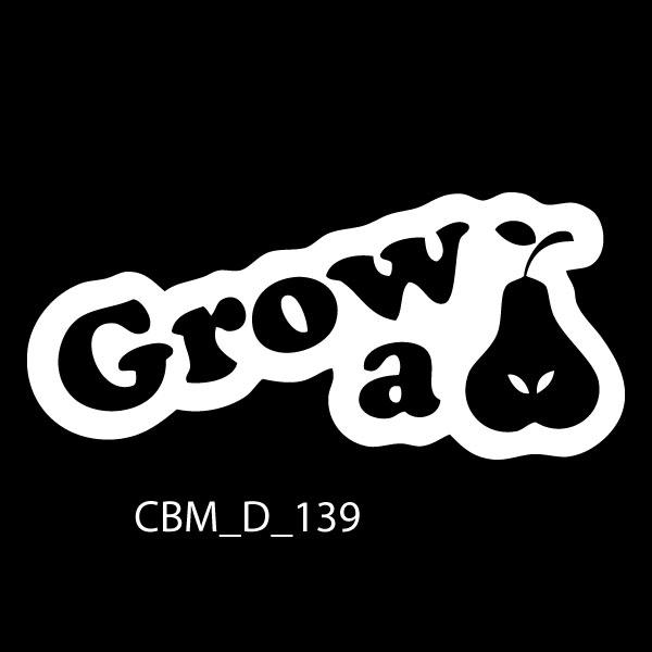 Grow a Pear Car Stickers by CBM Signs Ireland