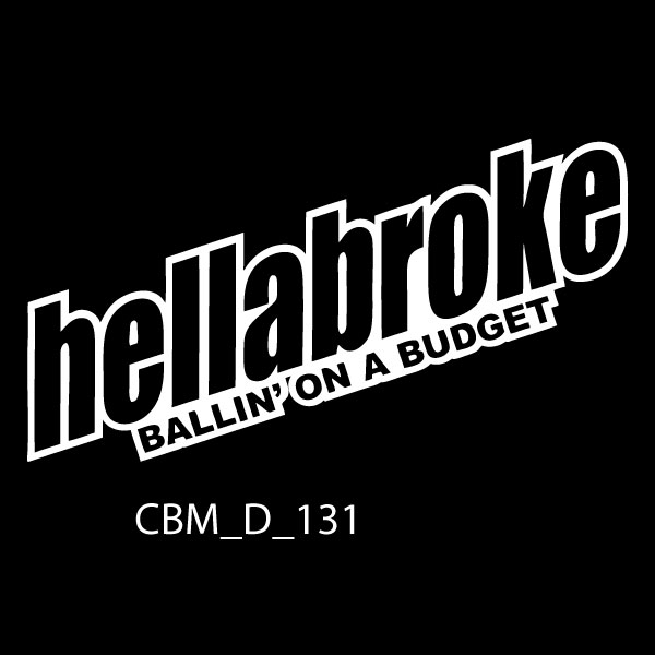 Hellabroke Ballin Car Stickers - order your car stickers online today