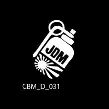 JDM Grenade Car Stickers