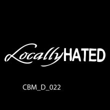 Locally Hated Car Stickers