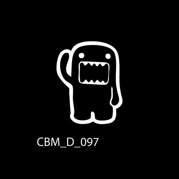 Monster Car Sticker - Car Decals UK & Ireland