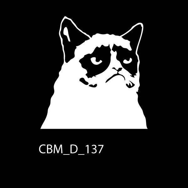 Grumpy Cat Car Stickers