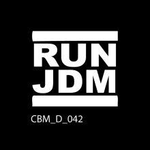 RUN JDM Car Sticker