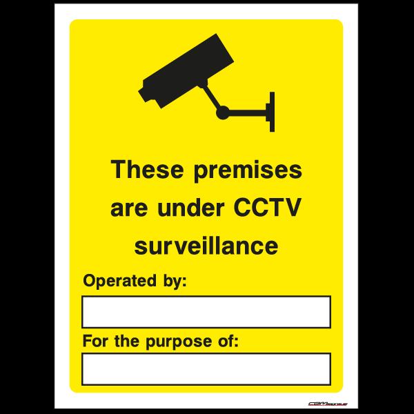 CCTV Surveillance Security Sign