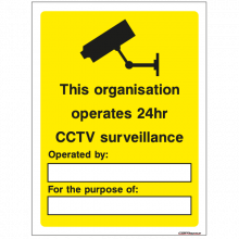 CCTV Security Sign