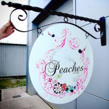 Bracket Projecting Sign For Shop Front