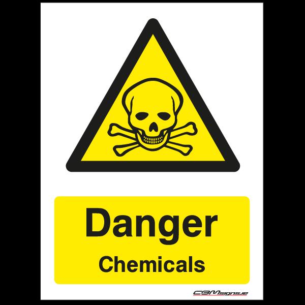 Farm Sign - Danger Chemical