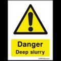 Farm Safety Sign - Danger Deep Slurry