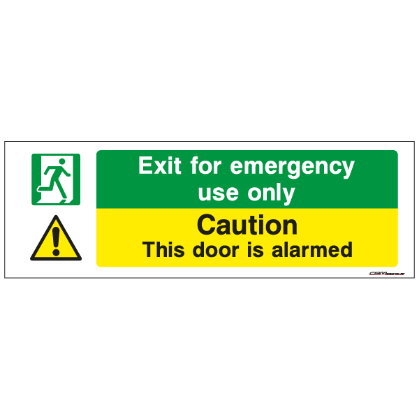 security signs Ireland