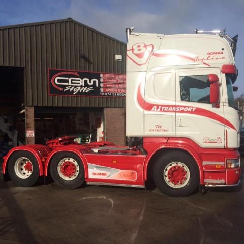 AJ Transport Lorry