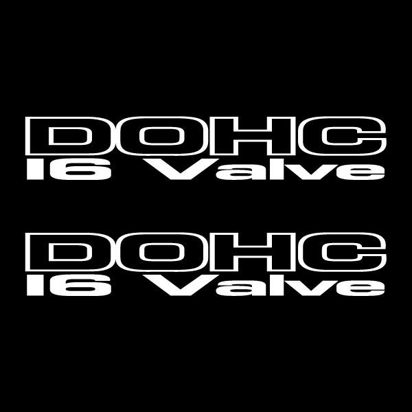Car Sticker - DOHC 16V Wings