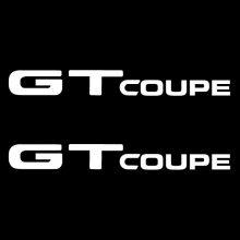 Car Sticker - GT Coupe Side Windows