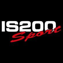 Car Sticker - IS200 Sport