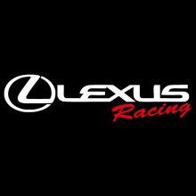 Car Sticker - Lexus Racing