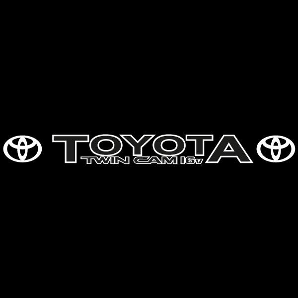 Car Sticker - Toyota 2 Windscreen
