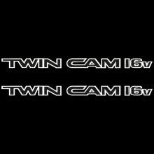Car Sticker - Twin Cam 16V Lower Doors