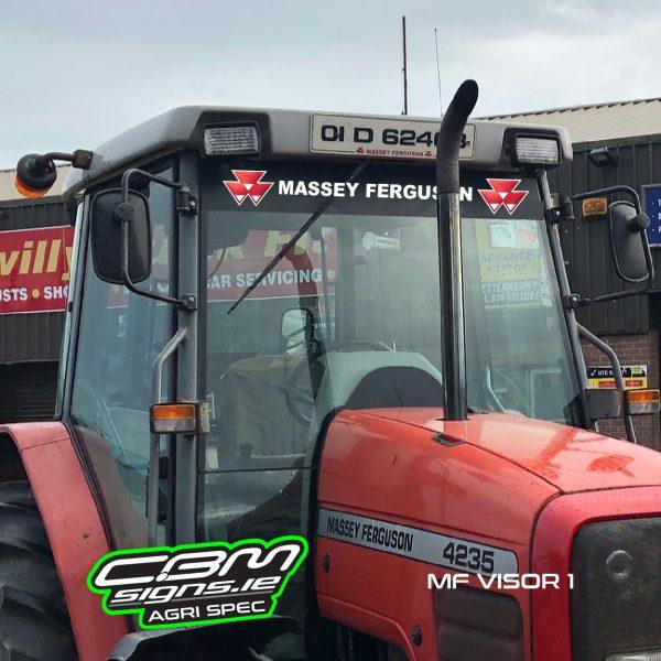 massey ferguson tractor visors