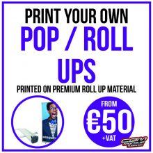 Pop / Roll Ups