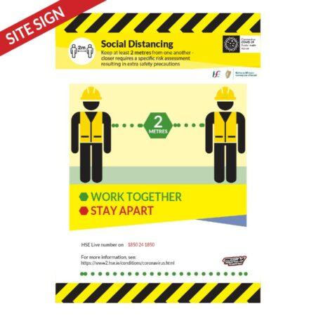 Covid-19 Social Distancing Poster