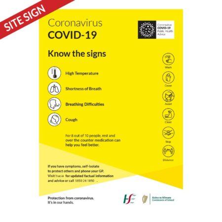 HSE_Covid19 Symptoms Poster
