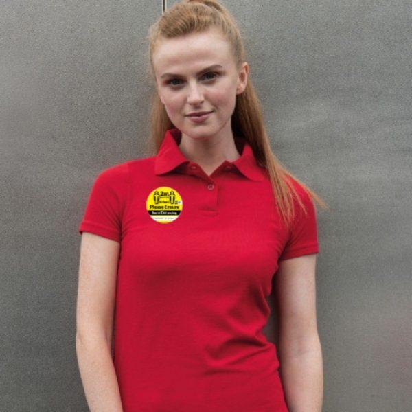 Social Distancing Uniform Stickers