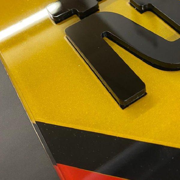4D Show Number Plates German