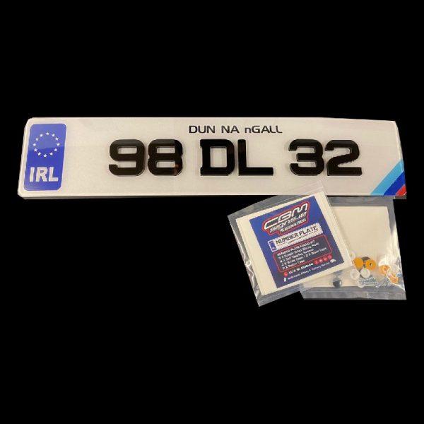 4D Sporty IRK BMW plate